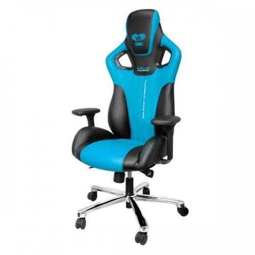 Herní křeslo E-Blue Cobra, modrá (EEC303BLAA-IA)